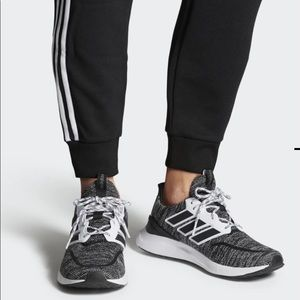 Adidas ENERGYFALCON WIDE Mens sneakers black new